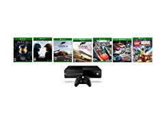 Xbox One 500GB with 7 Games