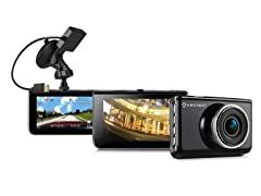 Amcrest Full-HD 1080p Dash Cam with Optional GPS Mount