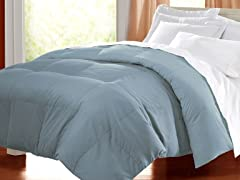 Egyptian Cotton Down Alternative Comforter - Light Blue