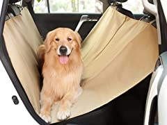 Alessio Pet Car Seat Cover - Cream