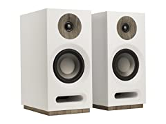 Jamo S 803 Bookshelf Speakers (Pair) - White