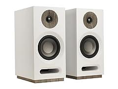 Jamo S 803 Bookshelf Speakers (Pair) - White