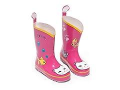 Lucky Cat Rain Boots (6-2)