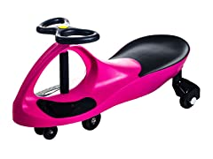Lil' Rider Wiggle Car - Hot Pink