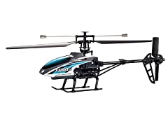 """Riviera 2.4Ghz 20"""" F46 4CH Blue R/C Helicopter"""