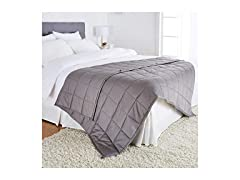 All-Season Cotton Weighted Blanket- 20lb