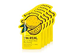 I'm Real Lemon Mask Sheet - 5 Pack