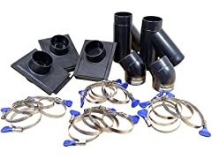 POWERTEC Three-Machine Dust Collection Kit