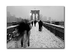 Gurney Love on Brooklyn Bridge (2 Sizes)
