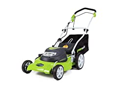 Greenworks 12 Amp 20-Inch Lawn Mower (Open Box)