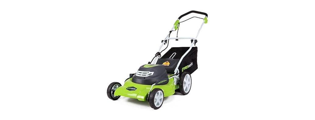 Greenworks 12 Amp 20-Inch Lawn Mower