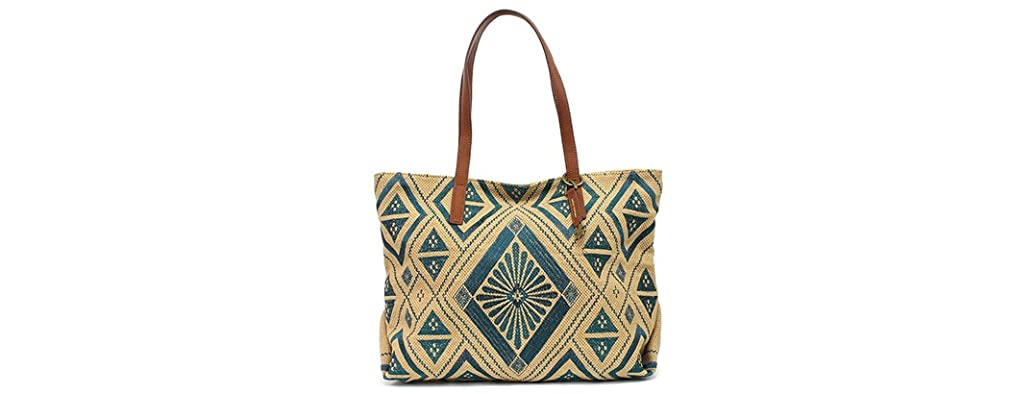 Lucky Brand Maya Top Zip Tote Bag