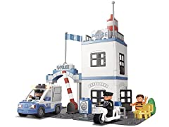 Police Station Action Toy Play Set