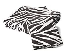 Microfiber Flannel Set - Zebra - 4 Sizes