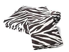 MicroFlannel Twin Set - Zebra