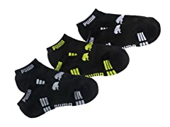 Sorbtek Low-Cut, Blk/Green/Grey/Wht 3pk