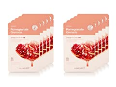 Real Nature Pomegranate Mask - 10 Pack