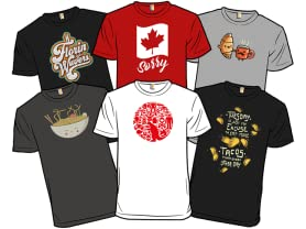 Derby Editor's Choice Shirts: Countries!