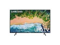 "Samsung 75"" Class NU7100 Smart 4K UHD TV"