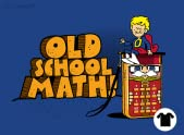 Old School Math!