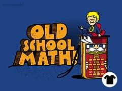 Old School Math!