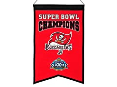 Tampa Bay Buccaneers Champions Banner