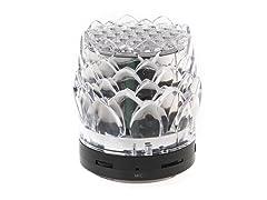 Fine Audio Bluetooth LED Crystal Speaker