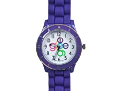 Crisscross Logo Watch - Purple Band