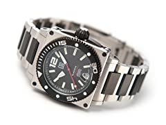 Men's ESQ Blackfin 300m Dive Black Watch