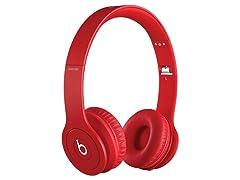 Beats Solo HD On-Ear Headphones - Red