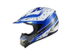 GLX  XP11-PL-M GLX Youth Off-Road Helmet