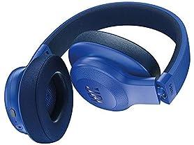 JBL E55BT Wireless Bluetooth Headphones - Blue