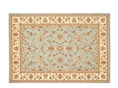 Majesty Rug  Lt Blue/Cream
