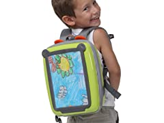 """Look What I Made"" Green Backpack"