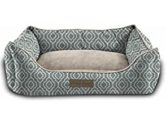 J&V Textiles Modern Chic Trellis Cat or Dog Mat