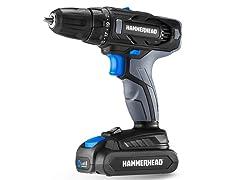 Hammerhead 20V 2-Speed Cordless Drill Kit