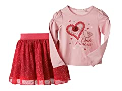 Top & Skirt Set - Little Princess