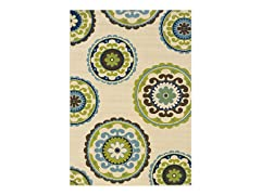 Cottage Beige  Rug (Multiple Sizes)