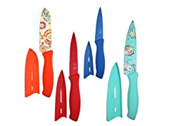 Fiesta 8-Piece Decal Cutlery Set