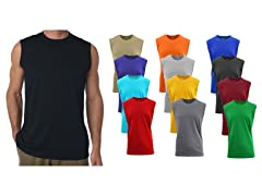 GBH Men's Assorted Muscle Tee 4-Pack