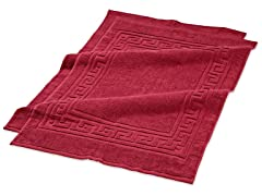 Superior Combed Cotton 2Pc Bath Mat Set