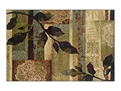 Avery Leaf Area Rug (4 Sizes)