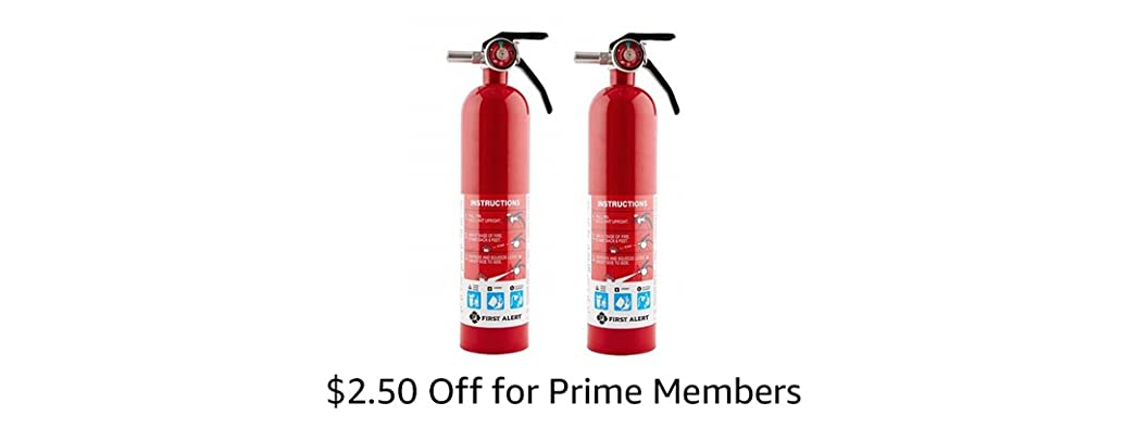 First Alert Home Fire Extinguisher 2-Pack