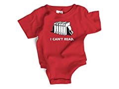 """I Can't Read"" (0-12 Months)"