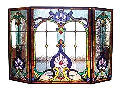 Victorian Fireplace Screen IV