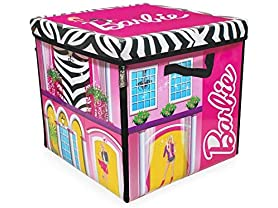 Barbie Dream House Toy Box & Playmat