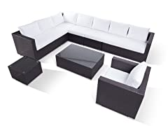 XXL Sectional Outdoor Lounge Set