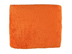Cozy Fleece 50x60 Throw-Tangerine