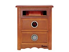 1500W Advanced DualHeating System Nightstand