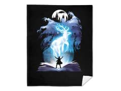 """The 3rd Book of Magic"" Blanket"
